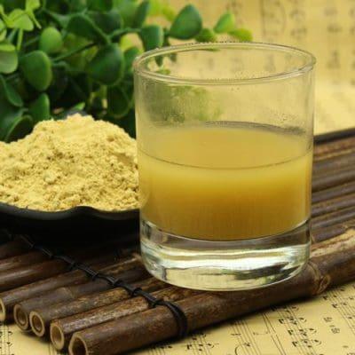 dried ginger powder tea