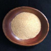 Granulated garlic dehydrated